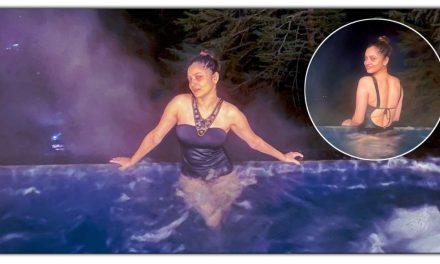 अंकिता लोखंडे की स्विमिंग पूल में नाहती हुई तस्वीरे हुई वायरल, कैमरे के सामने दिए हॉट पोज, देखिए तस्वीरें