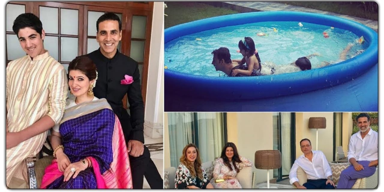 पत्नी ट्विंकल के साथ इस आलीशान घर में रहते हैं खेलाड़ी कुमार, अंदर से फाइव स्टार होटल से भी ज्यादा है वैभवी
