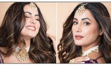 हिना खान ने पहन ली मस्त चोली, तस्वीरे देखकर आप भी बोल उठेंगे – एकदम शानदार!!