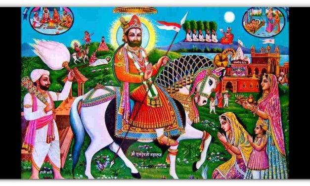 जो अंधे को आंखें और गूंगा को बोलता करता है, एसा पीरो का पीर रामापीर की महिमा जानिए,  एक बार शेयर करे रामबापा हर किसी की मुरादें पूरी करेगा।