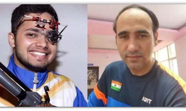 टोक्यो पैरालंपिक मे भारत के लिए सुवर्ण दिन, मनीष नरवाल ने जीता स्वर्ण और सिंहराज को मिला रजत पदक